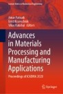 Advances in Materials Processing and Manufacturing Applications