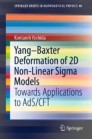Yang–Baxter Deformation of 2D Non-Linear Sigma Models