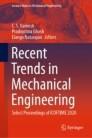 Recent Trends in Mechanical Engineering