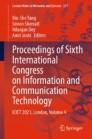 Proceedings of Sixth International Congress on Information and Communication Technology