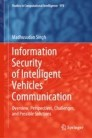Information Security of Intelligent Vehicles Communication