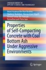 Properties of Self-Compacting Concrete with Coal Bottom Ash under Aggressive Environments