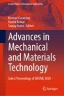 Advances in Mechanical and Materials Technology