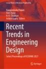 Recent Trends in Engineering Design