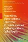 Proceedings of International Conference on Communication and Computational Technologies