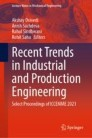 Recent Trends in Industrial and Production Engineering
