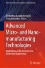Advanced Micro- and Nano-manufacturing Technologies
