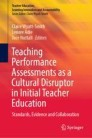 Teaching Performance Assessments as a Cultural Disruptor in Initial Teacher Education