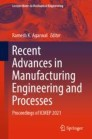 Recent Advances in Manufacturing Engineering and Processes