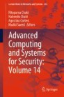 Advanced Computing and Systems for Security: Volume 14