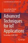 Advanced Techniques for IoT Applications