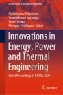 Innovations in Energy, Power and Thermal Engineering