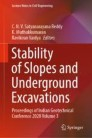 Stability of Slopes and Underground Excavations