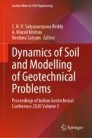 Dynamics of Soil and Modelling of Geotechnical Problems