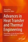 Advances in Heat Transfer and Thermal Engineering