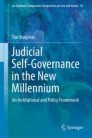 Judicial Self-Governance in the New Millennium