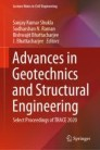 Advances in Geotechnics and Structural Engineering