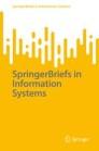 SpringerBriefs in Information Systems