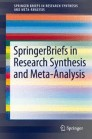 SpringerBriefs in Research Synthesis and Meta-Analysis