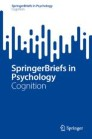 SpringerBriefs in Cognition