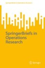 SpringerBriefs in Operations Research