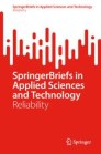 SpringerBriefs in Reliability