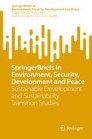 Sustainable Development and Sustainability Transition Studies