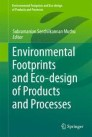 Environmental Footprints and Eco-design of Products and Processes