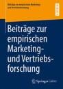Beiträge zur empirischen Marketing- und Vertriebsforschung