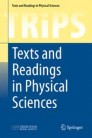 Texts and Readings in Physical Sciences