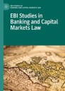 EBI Studies in Banking and Capital Markets Law