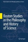 Boston Studies in the Philosophy and History of Science