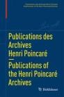 Publications des Archives Henri Poincaré   Publications of the Henri Poincaré Archives