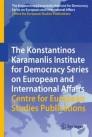 The Konstantinos Karamanlis Institute for Democracy Series on European and International Affairs