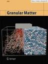 Front cover of Granular Matter