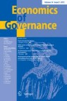 Front cover of Economics of Governance