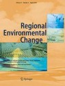 Front cover of Regional Environmental Change