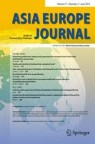 Front cover of Asia Europe Journal