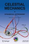 Front cover of Celestial Mechanics and Dynamical Astronomy