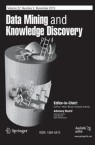 Front cover of Data Mining and Knowledge Discovery