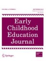 Front cover of Early Childhood Education Journal