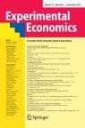 Front cover of Experimental Economics