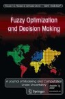 Front cover of Fuzzy Optimization and Decision Making