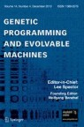 Front cover of Genetic Programming and Evolvable Machines