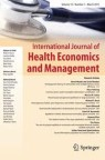Front cover of International Journal of Health Economics and Management