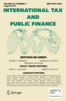 Front cover of International Tax and Public Finance