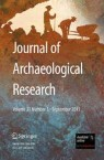 Front cover of Journal of Archaeological Research