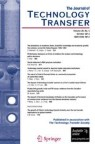 Front cover of The Journal of Technology Transfer