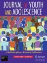 Front cover of Journal of Youth and Adolescence