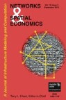 Front cover of Networks and Spatial Economics